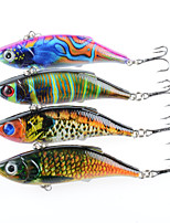 cheap -4pcs pcs Vibration / VIB Fishing Lures Vibration / VIB Hard Bait ABS Outdoor Sports & Outdoors Sea Fishing Fly Fishing Bait Casting