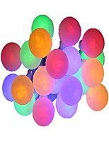 cheap -3m String Lights 20 LEDs Warm White Multi Color Decorative AA Batteries Powered 1pc