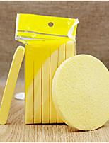 abordables -36 pcs Nettoyage du visage Brosses Houppette / Eponge Éponge Rond Visage Portable Niveau professionnel simple Portable Quotidien Vacances