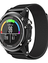 cheap -Watch Band for Fenix 5x Fenix 3 HR Fenix 3 Garmin Milanese Loop Metal Wrist Strap