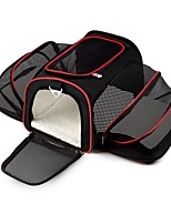 cheap -Dogs Rodents Cats Rabbits Furry Small Pets Pets Carrier & Travel Backpack Pet Carrier Multi layer Portable Breathable Double-Sided Folding