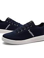 abordables -Homme Chaussures Gomme Printemps / Eté Confort Basket Noir / Bleu de minuit / Gris
