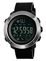 cheap -SKMEI Men's Digital Sport Watch Japanese Bluetooth Chronograph Water Resistant / Water Proof Remote Control / RC Stopwatch PU Band Casual