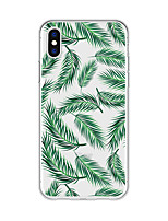 abordables -Funda Para Apple iPhone X iPhone 8 Plus Diseños Funda Trasera Plantas Caricatura Suave TPU para iPhone X iPhone 8 Plus iPhone 8 iPhone 7