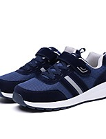 cheap -Men's Shoes Tulle Summer / Fall Comfort / Light Soles Sneakers Black / Gray / Blue
