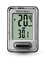 baratos -CatEye® Velo 7 CC-520 Cronômetro Computador de Bicicleta Velocímetro Cabeada Hodômetro Velocidade Bicicleta De Montanha Exterior Ciclismo