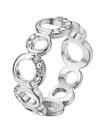 cheap -Women's Band Ring - Bohemian / Elegant Silver Ring For Gift / Daily