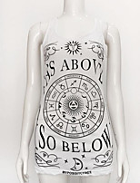 preiswerte -Damen Geometrisch - Grundlegend T-shirt Druck
