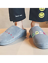 cheap -Men's Shoes Fabric Fall Winter Comfort Slippers & Flip-Flops for Casual Gray Coffee
