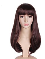cheap -Synthetic Wig Straight Layered Haircut Bob Haircut Natural Hairline Brown Women's Capless Celebrity Wig Party Wig Natural Wigs Cosplay Wig