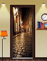 cheap -Wall Decal Decorative Wall Stickers - 3D Wall Stickers Scenic 3D Re-Positionable Removable