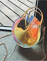 cheap -Women's Bags PVC / PU Bag Set Buttons for Event / Party Rainbow