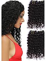 Недорогие -Перуанские волосы Волнистый Ткет человеческих волос 50 г х 3 Горячая распродажа Человека ткет Волосы Накладки из натуральных волос Все