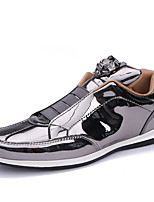 cheap -Men's Comfort Shoes PU Spring / Fall & Winter Sporty / Casual Sneakers Black / Gold / Silver / Party & Evening