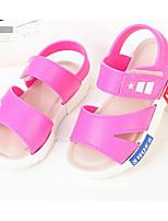 preiswerte -Mädchen Jungen Schuhe PVC Sommer Lauflern Komfort Sandalen für Normal Schwarz Fuchsia Rosa Königsblau
