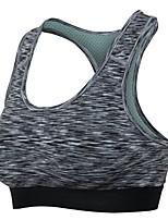 abordables -Femme Soutien Important Soutien-Gorges de Sport Respirabilité Soutien-Gorges de Sport pour Exercice & Fitness Polyester Rouge / Vert /