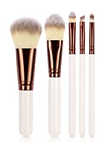 cheap -5 pcs Professional Makeup Brushes Makeup Brush Set / Blush Brush / Eyeshadow Brush Synthetic Hair Eco-friendly / Professional / Soft Wood