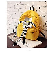 cheap -Women's Bags PU Backpack Pattern / Print for Casual Black / Red / Yellow