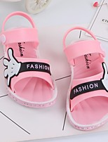 cheap -Girls' Boys' Shoes PVC Leather Summer Comfort Sandals for Casual Yellow Blue Pink