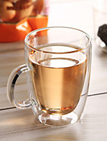 cheap -Drinkware Organic Glass Glass Mug Heat-Insulated 1pcs