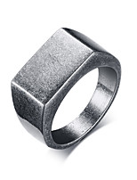 cheap -Men's Band Ring - Fashion 8 / 9 / 10 Gray For Street / Work
