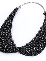 cheap -Collar Necklace  -  Drop Elegant, Statement Black 35 cm Necklace For Wedding, Evening Party
