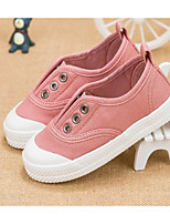 cheap -Girls' Boys' Shoes Canvas Spring Fall Comfort Sneakers for Casual Black Gray Pink
