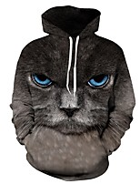 cheap -Men's Punk & Gothic Street chic Hoodie - Portrait