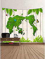 cheap -Garden Theme Butterfly Theme Wall Decor 100% Polyester Contemporary Classic Wall Art, Wall Tapestries Decoration