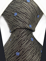 cheap -Men's Party Work Rayon Necktie - Polka Dot Patchwork Jacquard