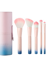 cheap -7 pcs Professional Makeup Brushes Makeup Brush Set Synthetic Hair Soft / Comfy / Color Gradient Wooden N / A