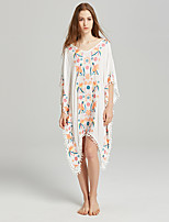 cheap -SHE IN SUN Women's Basic Boho Shift Dress - Floral Tassel