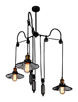 cheap -Chandelier Downlight - Mini Style Adjustable Extended, Artistic Retro, 110-120V 220-240V Bulb Not Included