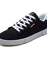 cheap -Men's Shoes Rubber Spring / Summer Comfort Sneakers Black / Gray / Black / White