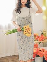 cheap -Women's Slim Tank Top - Floral Dress / Floral / Slim