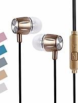 abordables -SL63A En el oido Cable Auriculares Dinámica PVC (PVJ) Deporte y Fitness Auricular Auriculares