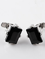 cheap -Envelope / Rectangular Black Cufflinks Alloy Fashion European Wedding Formal Men's Costume Jewelry