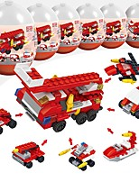cheap -Building Blocks 216pcs Military Stress and Anxiety Relief / Parent-Child Interaction Fire Engine Vehicle Gift