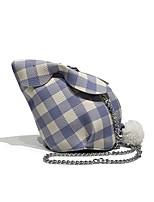 cheap -Women's Bags PU Shoulder Bag Zipper Blue / Blushing Pink