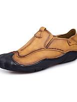 abordables -Homme Chaussures PU de microfibre synthétique Printemps Automne Confort Mocassins et Chaussons+D6148 pour Décontracté Marron Kaki