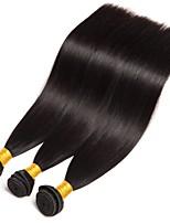 cheap -Brazilian Hair Straight Human Hair Extensions 3 Bundles 8-28inch Human Hair Weaves Extention / Hot Sale Natural Black All