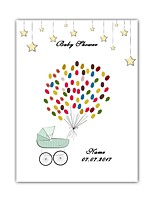 cheap -Guest Book Paper Classic Theme Baby Shower Vintage Theme New BabyWithPattern / Print N / A