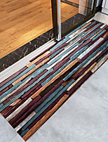 cheap -Creative Sports & Outdoors Country Area Rugs Flannelette, Superior Quality Rectangle Striped Rainbow Rug