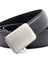 cheap -Women's Party Work Leather Alloy Waist Belt Pleated