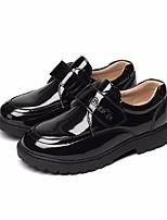 preiswerte -Jungen Schuhe Kunstleder Frühling Herbst Komfort Loafers & Slip-Ons für Normal Weiß Schwarz