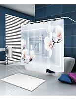 cheap -Shower Curtains & Hooks Casual Modern Polyester Novelty Machine Made Waterproof Bathroom