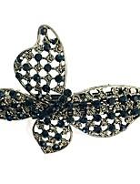 Недорогие -Жен. Простой Милая Заколка - С бабочками Однотонный
