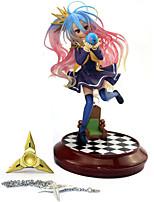 baratos -Figuras de Ação Anime Inspirado por No Game No Life Shiro PVC 20 cm CM modelo Brinquedos Boneca de Brinquedo