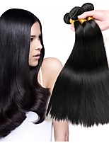 cheap -Malaysian Hair Straight Human Hair Weaves 50g x 3 Hot Sale Extention Natural Color Hair Weaves Human Hair Extensions All Christmas Gifts