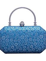 preiswerte -Damen Taschen PVC (Polyvinylchlorid) Abendtasche Kristall Verzierung / Geprägt für Hochzeit / Veranstaltung / Fest Schwarz / Silber /